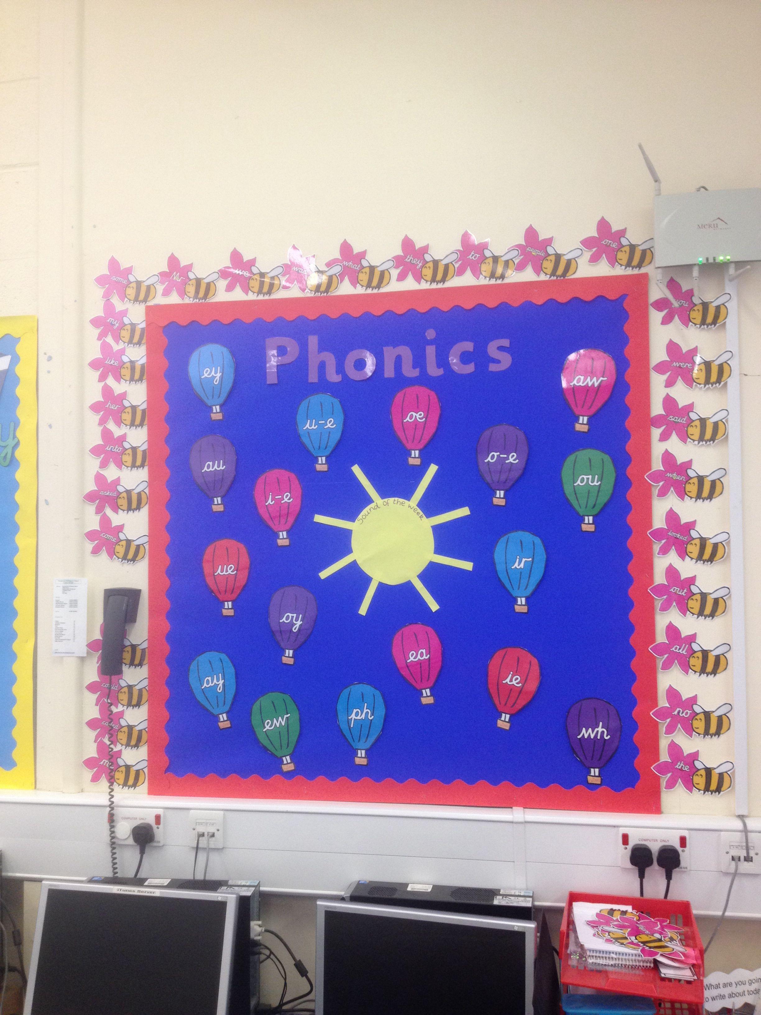 Phase 5 Phonics Display