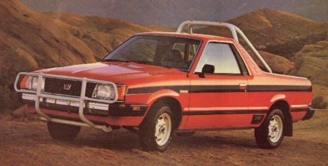 Subaru Brat The Only Trunk Bed You Re Allowed To Sit In