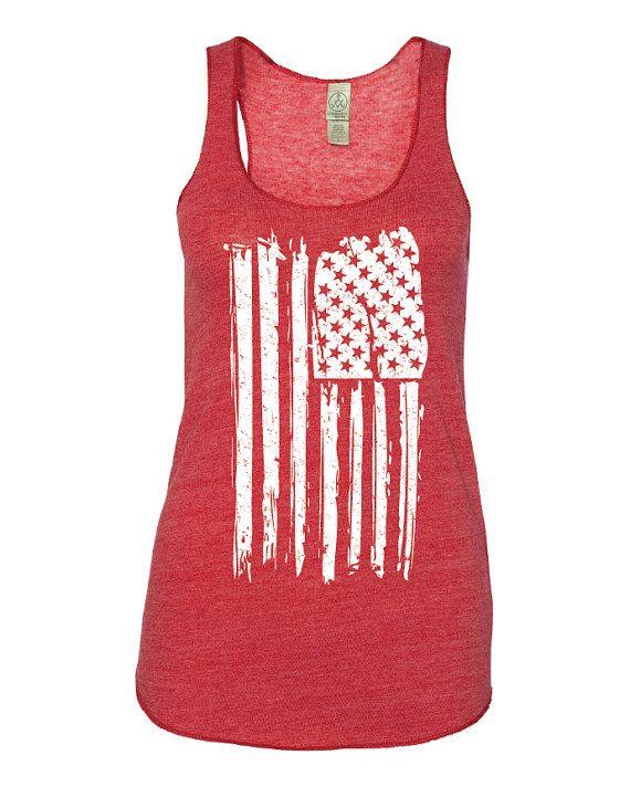 4th Of July Shirt Women July 4th Tank 4th Of July American Etsy Womens Shirts American Flag Tank Top Flag Tank Top
