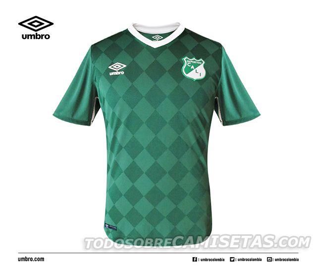 Camisetas Umbro de Deportivo Cali 2016  ff525b75ca6