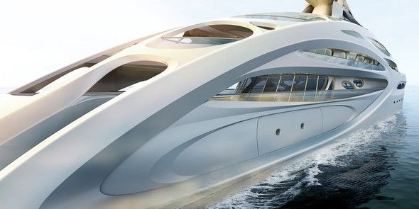 Limited Edition: Zaha Hadid Superyacht | #baselshows #basel #designshows #design #zahahadid | http://www.baselshows.com/
