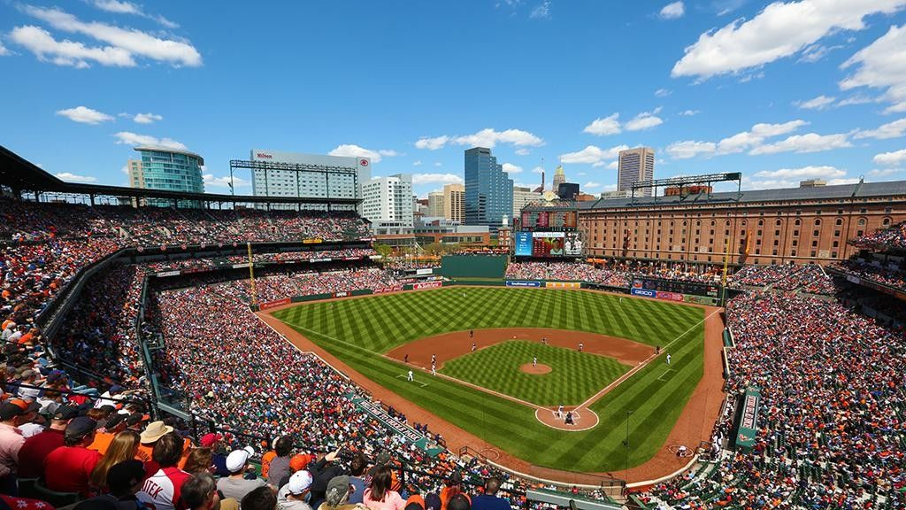 What A Lovely View Baseball Park Camden Yards Orioles
