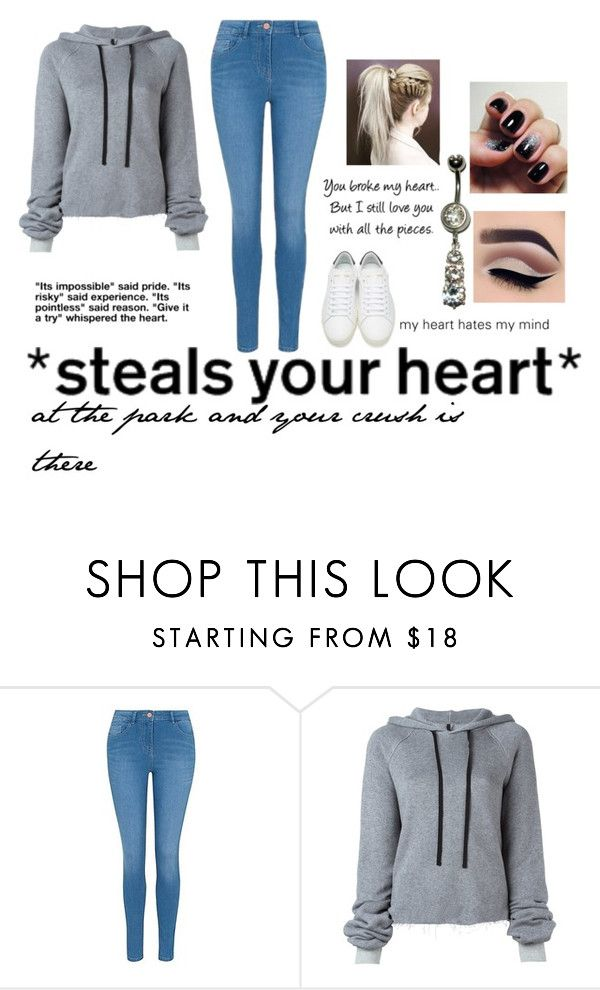 """""""Untitled #843"""" by ladonna-paiz ❤ liked on Polyvore featuring George, Unravel, Love Quotes Scarves and Yves Saint Laurent"""
