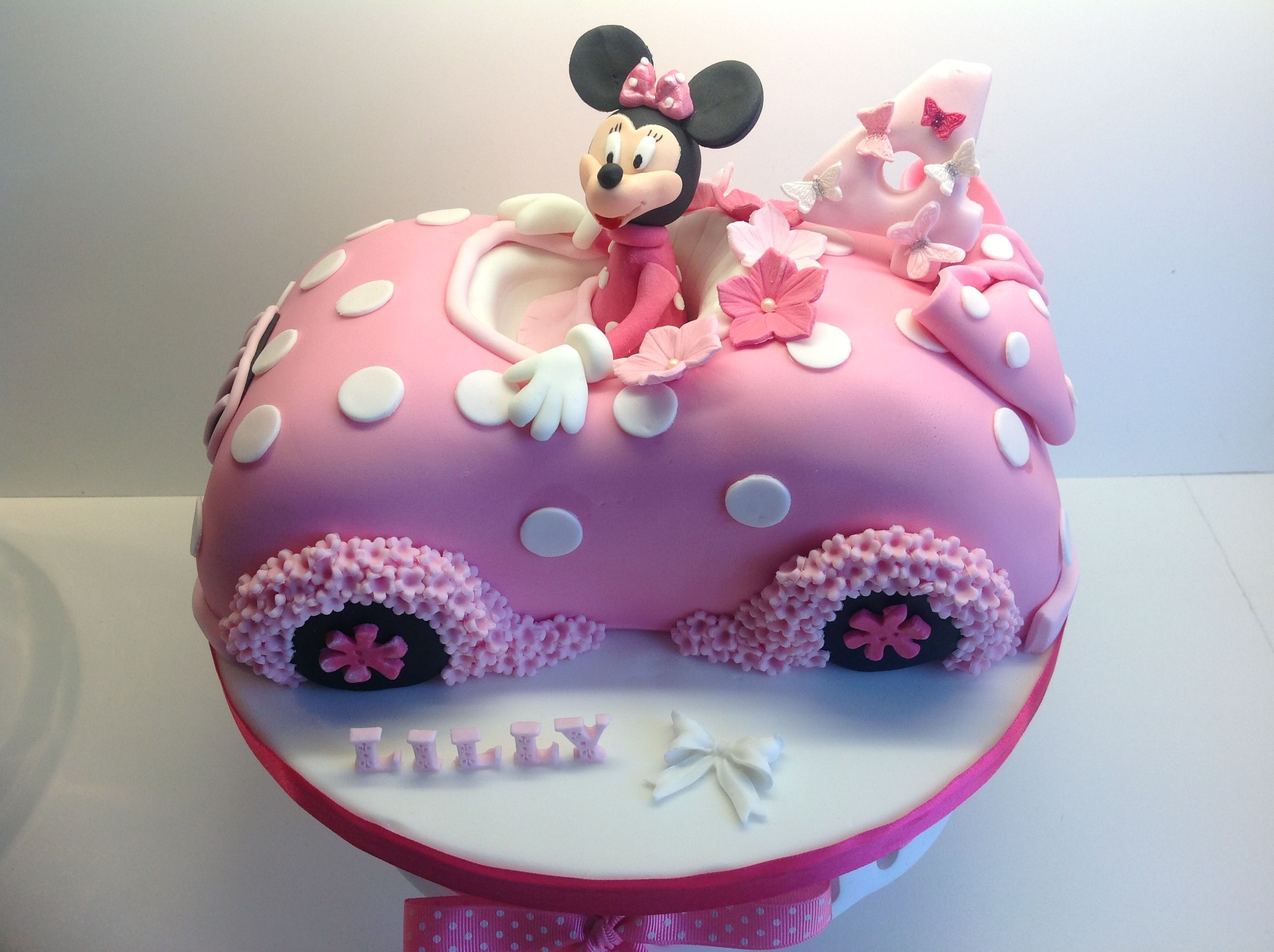 minnie mouse car cake kindergeburtstag pinterest. Black Bedroom Furniture Sets. Home Design Ideas