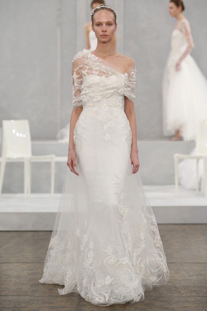 2015 BRIDAL gowns | Monique Lhuillier Spring 2015 Wedding Dresses ...