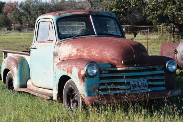 1953 Chevy 3100 Pickup Truck Photo Picture Vintage Trucks