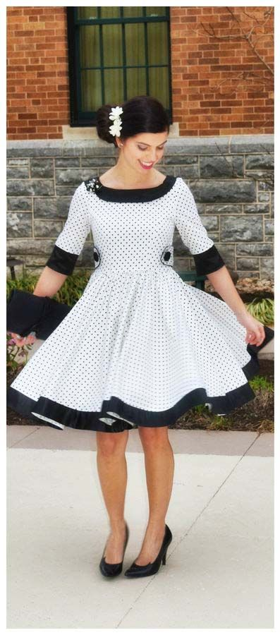 Rockabilly kleid fur kinder nahen