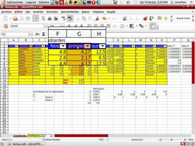 Videotutorial LibreOffice Calc 8 Comp TIA Pinterest Linux - open office spreadsheet