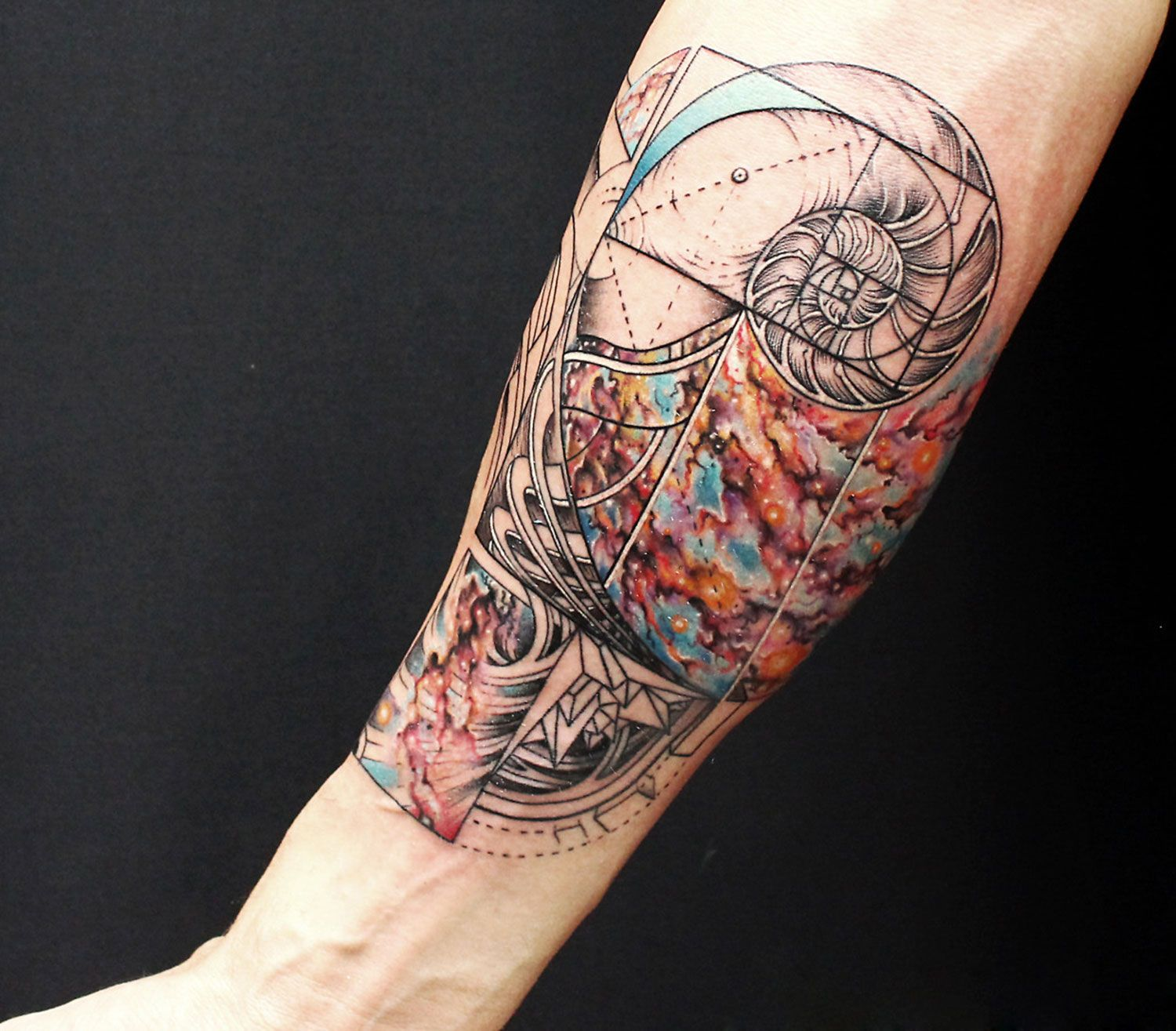 Tattoo Design Questions: Tattoos By Nick Broslavskiy Make You Question Reality