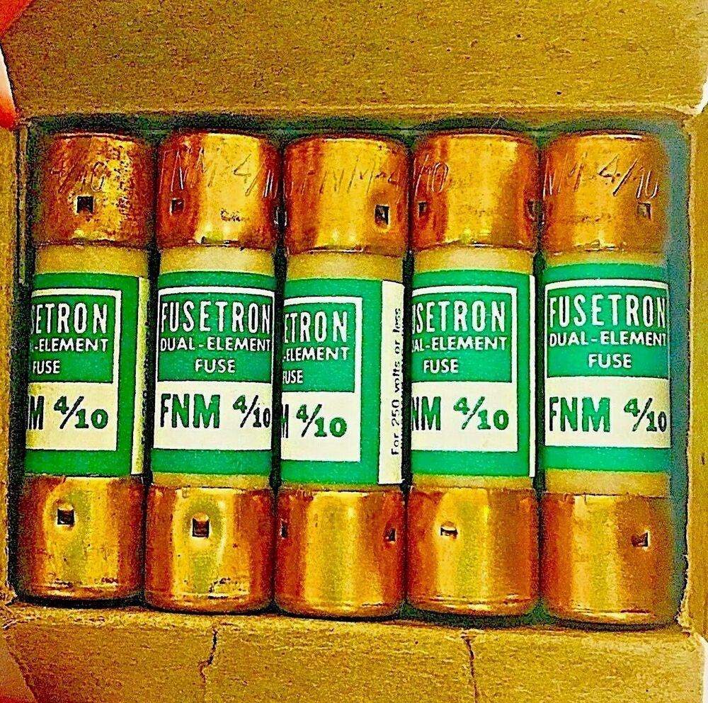 hight resolution of box fnm 4 10 fusetron bussmann fuses dual element 250 volt 3 2 amp midget 10 ebay