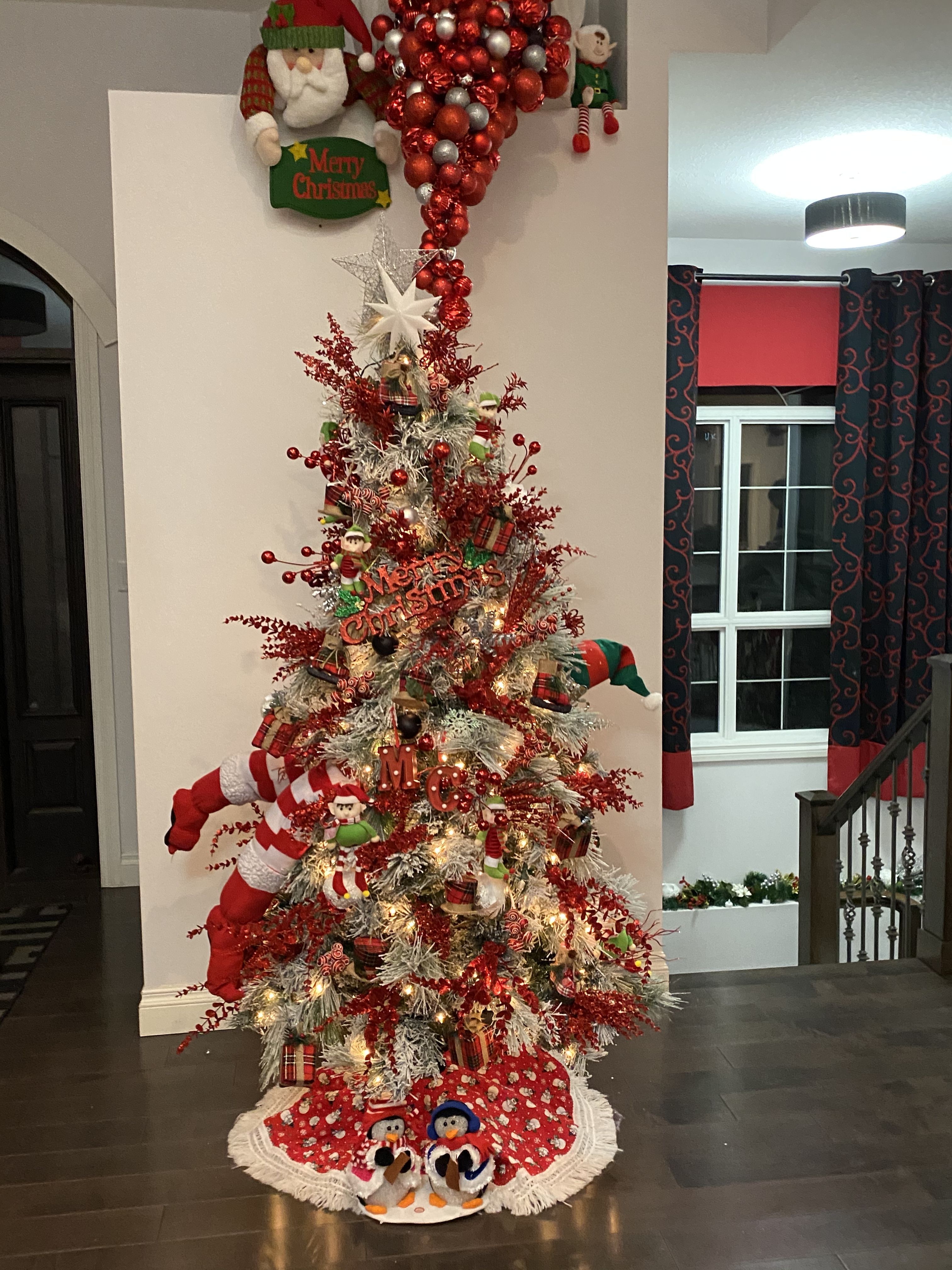 Crazy Christmas Tree Christmas Tree Christmas Tree Decorations Holiday Decor