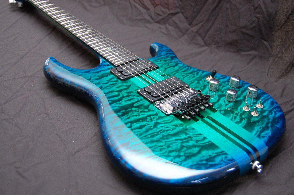 custom guitars carvin custom shop dragon burst guitar instruments guitar acoustic guitar. Black Bedroom Furniture Sets. Home Design Ideas