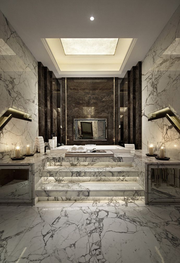 show bath – popular, stylish and luxurious for exhilarating