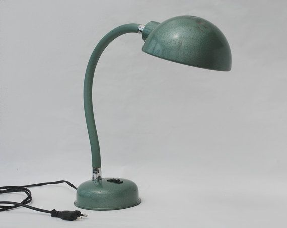 Industrial table lamp vintage green metal flexible desk lamp industrial table lamp vintage green metal flexible desk lamp industrial lighting loft decor aloadofball