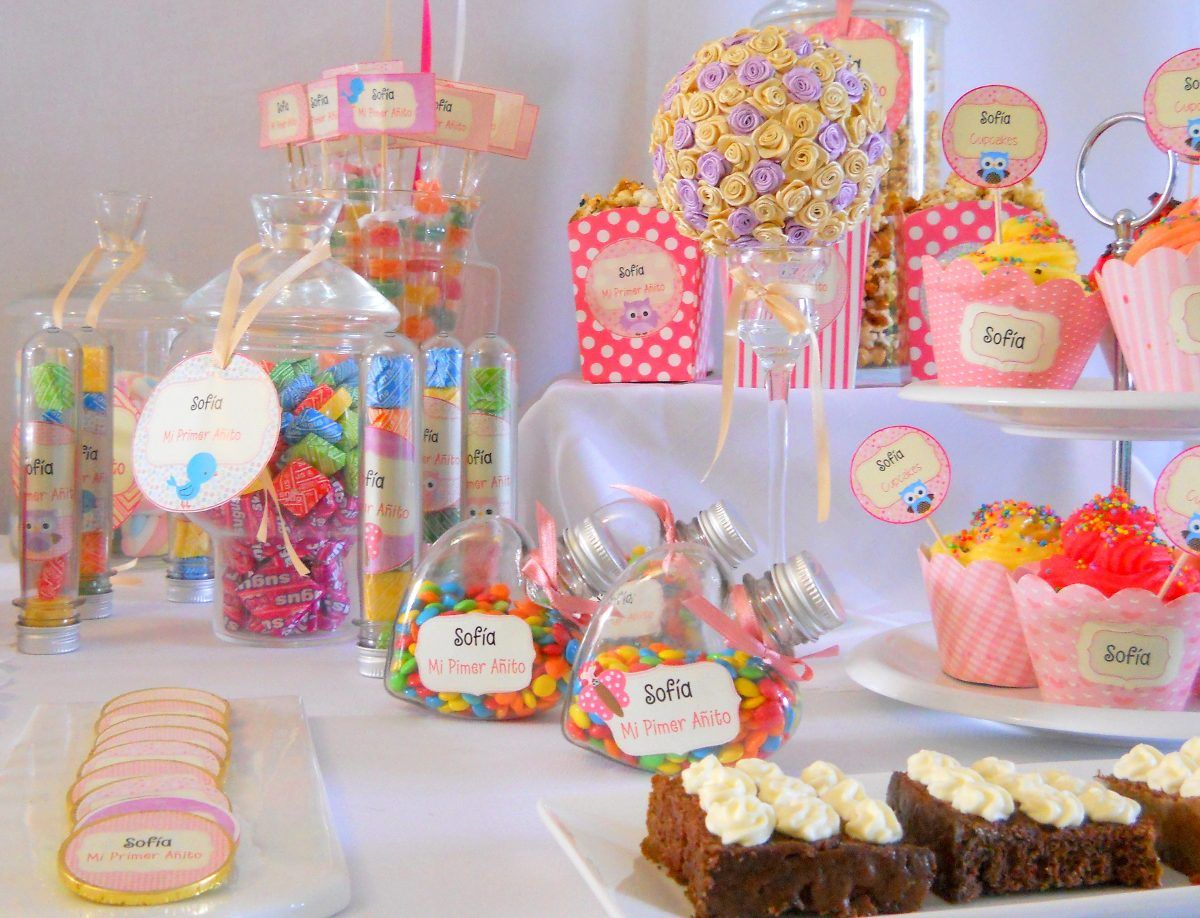 Candy Bar Mesa Dulce Temtica Golosinas  BABY SHOWER
