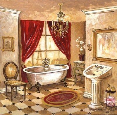 Gregory Gorham Persian Bath Cuadros Decorativos Para Banos Cuadros Para Banos Azulejos Cuarto De Bano