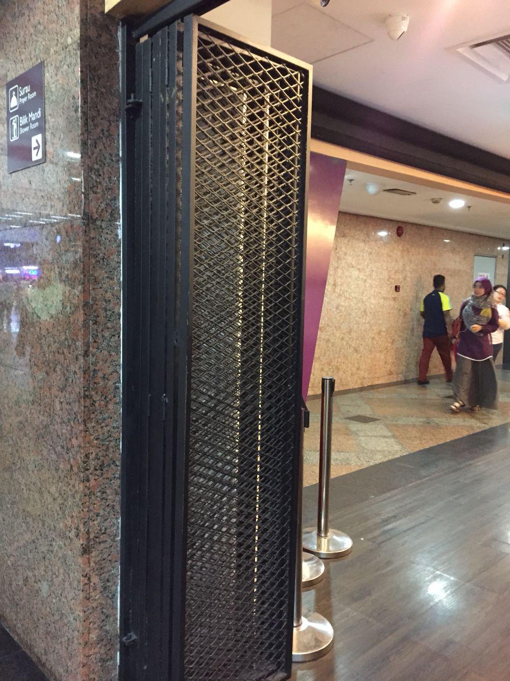 Wire Mesh Folding Door Doors Interior Folding Doors