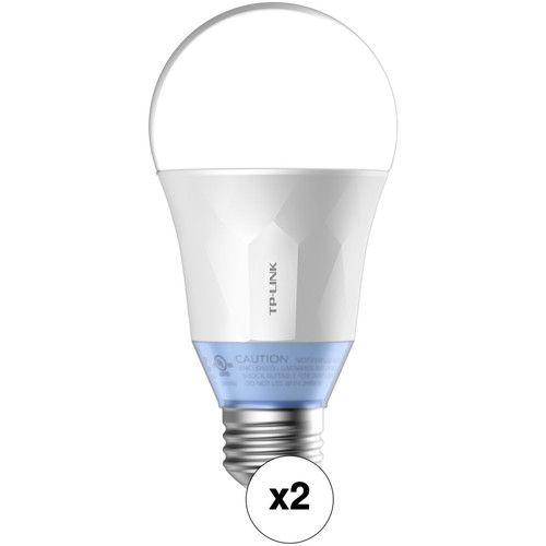 Tp Link Lb120 Wi Fi Smart Led Bulb With Tunable White Light Kit 2 Pack Led Bulb Led Tape Lighting Tp Link