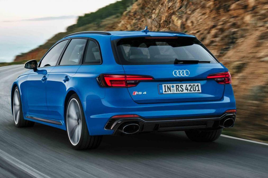 Audi RS4 Avant Estate 2018 Release Images