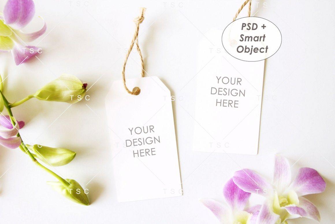 Tag Mockup Gift Tag Thank You Tag Product Tag 236381 Products Design Bundles Design Mockup Free Wedding Favor Tags Free Psd Mockups Templates