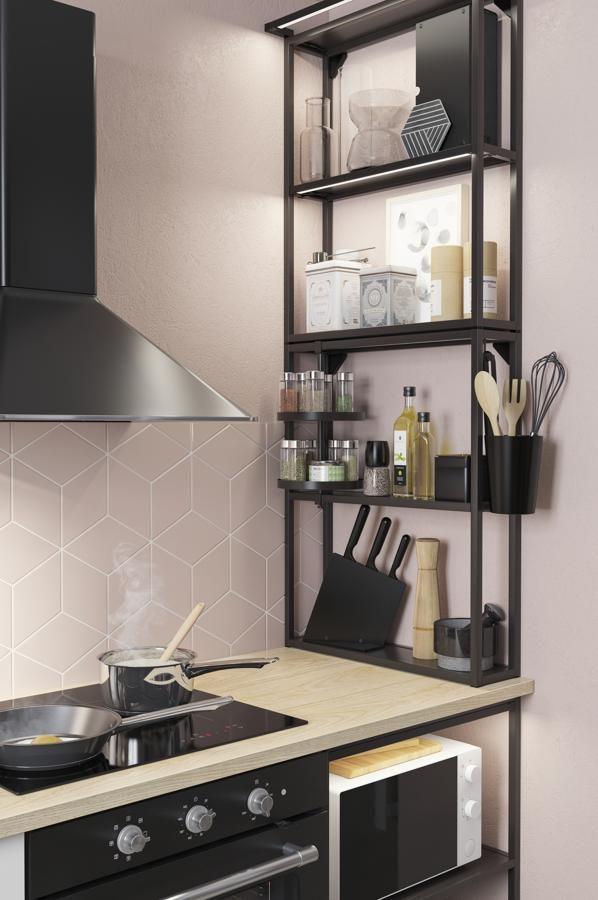 Quince muebles y accesorios para organizar la cocina y conseguir más espacio para guardar