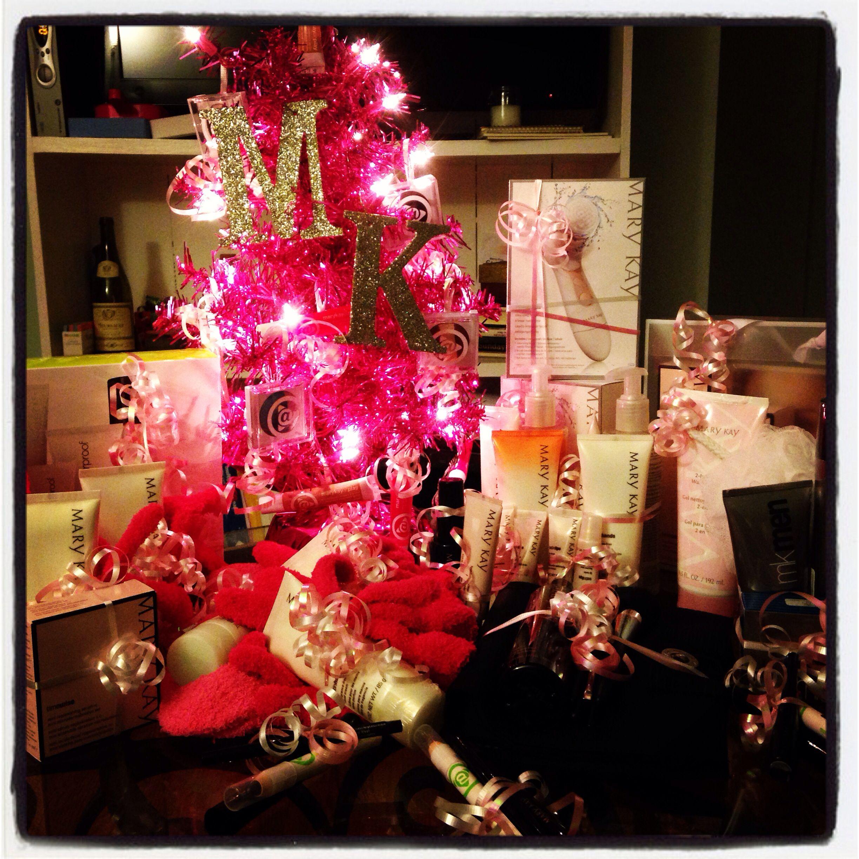 Mary Kay Christmas Presentsdisplay Ideas