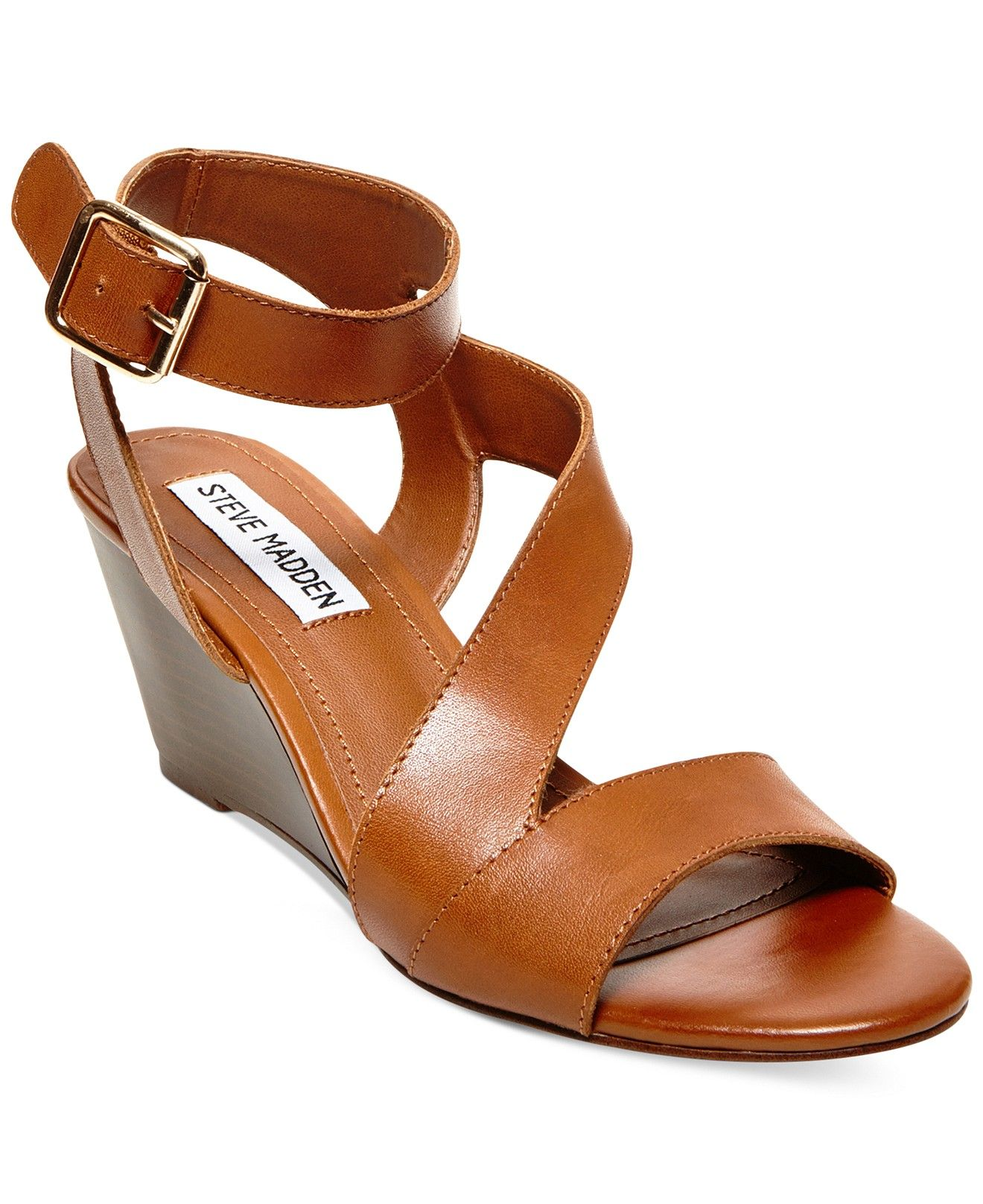bec42891fa33 Code  GREAT Steve Madden Women s Stipend Wedge Sandals - Sandals - Shoes -  Macy s