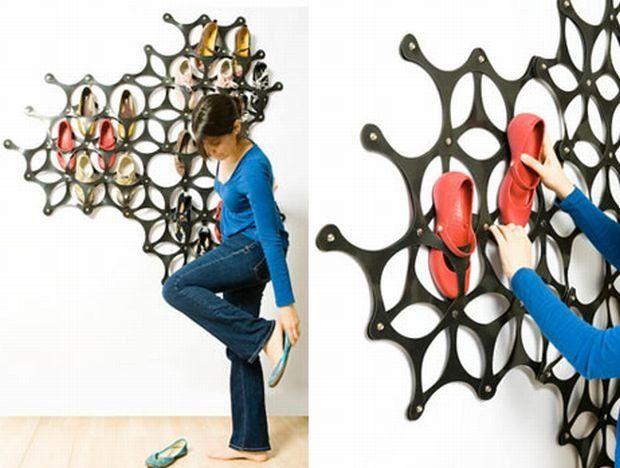 Shoe Storage Ideas In Closet