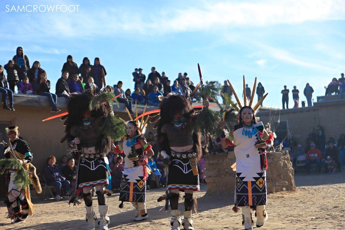 Hopi Buffalo Dance - First Mesa, AZ - Copyright Sam Crowfoot