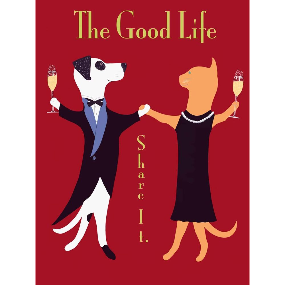 Ken Bailey 'The Good Life' Unframed Print | Overstock.com Shopping - Top Rated Prints