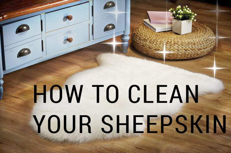 How to clean wash a sheepskin rug outlavish