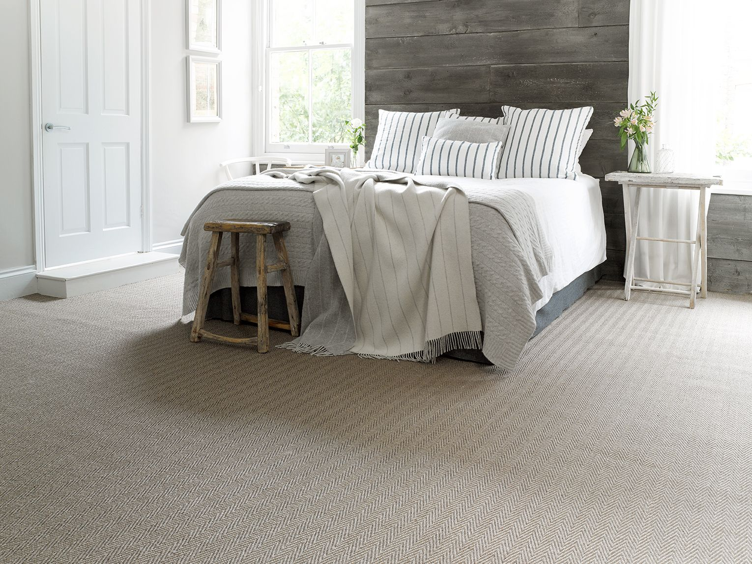 Stone Represents A Step Away From The Norm An Alternative Design Coming In An Alternative Weave Bedroom Flooring Guest Bedroom Home