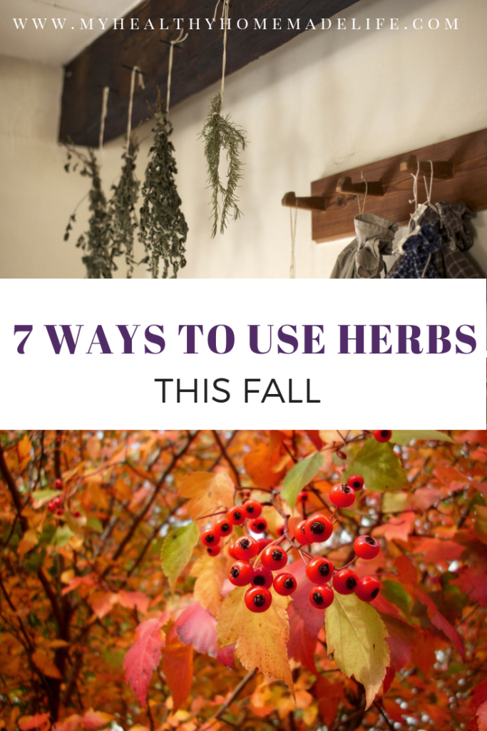 7 Ways to Use Herbs This Fall Herbs, Home remedies