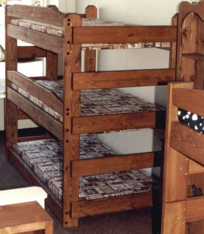Wood Bunk Beds For Adults Google Search Bunk Beds Bunk Beds