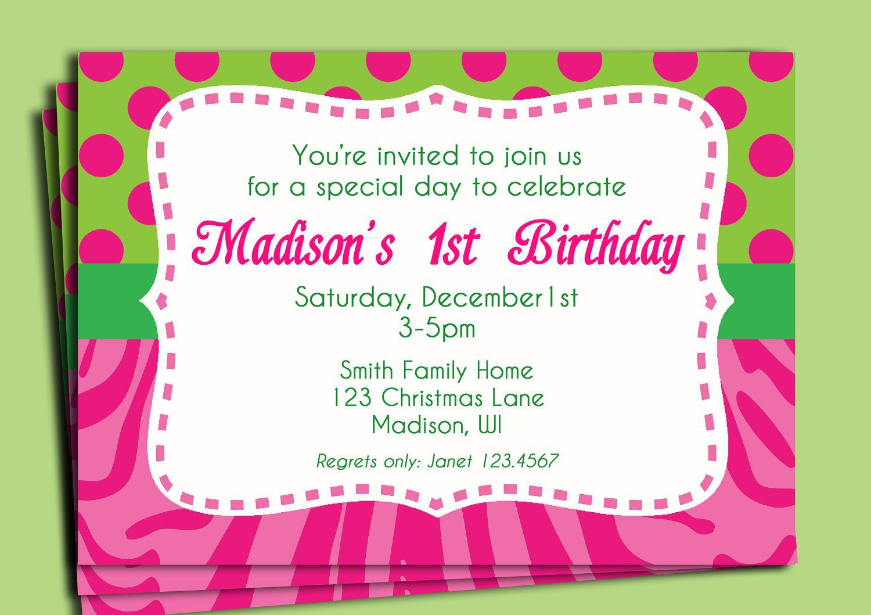 11 Year Old Birthday Invitation Wording   Invsite.co