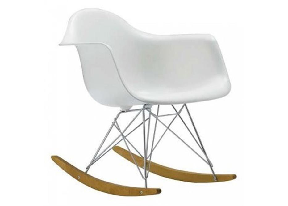 Sedia A Dondolo Rar Eames : Rar rocker chair charles & ray eames furniture pinterest