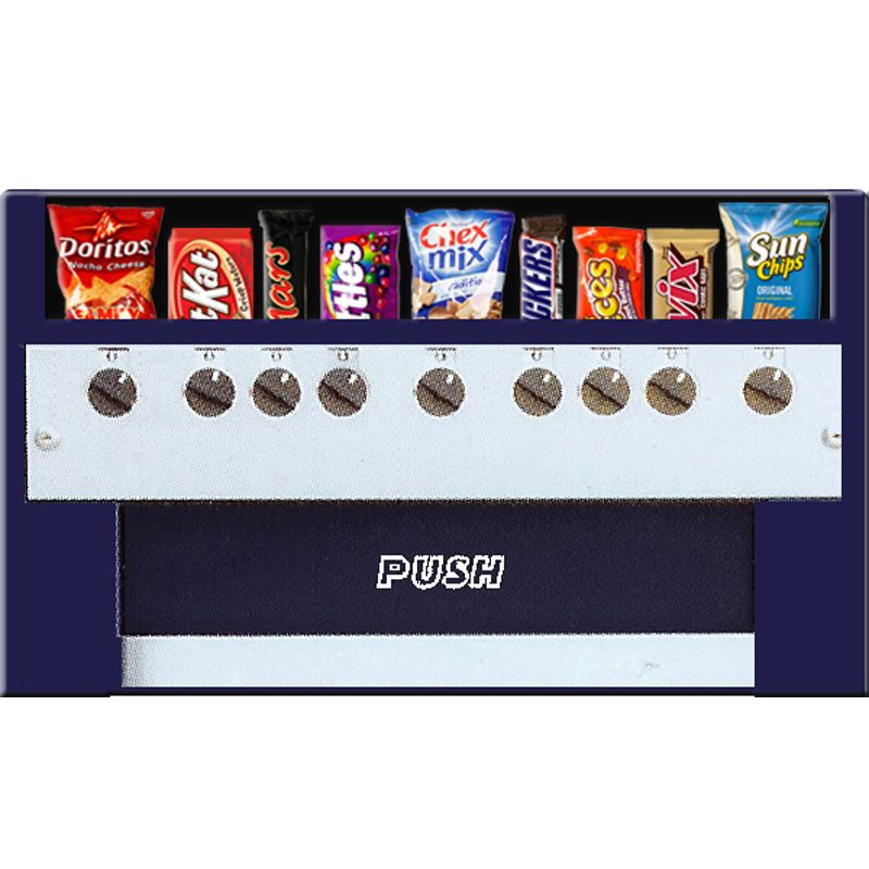 Tabletop Snack Machine Candy Food Chip Vending Compact