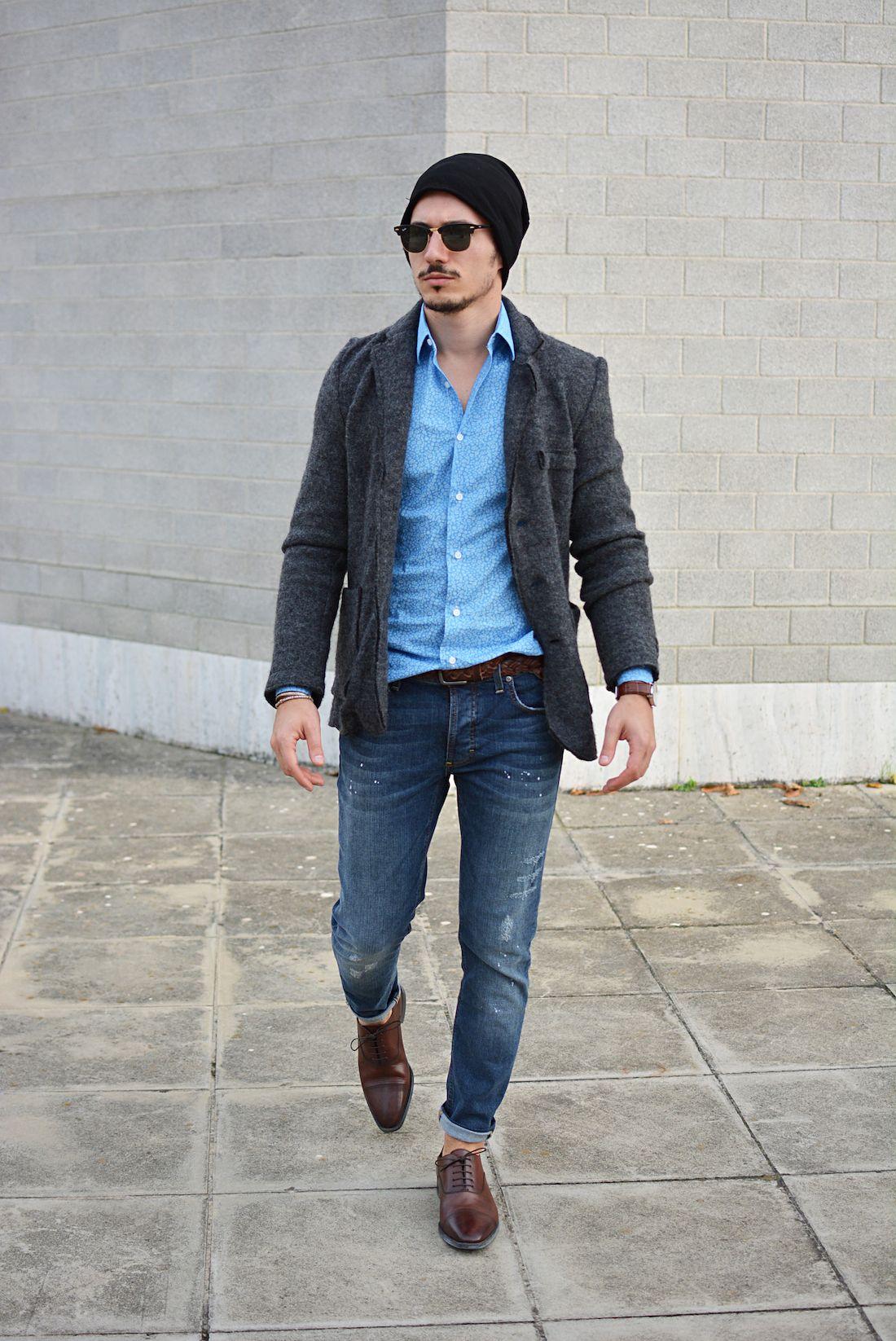 48193b4765c3 Chaussure Richelieu Homme, Look Homme, Style Homme, Lunettes De Soleil,  Cuir Brun