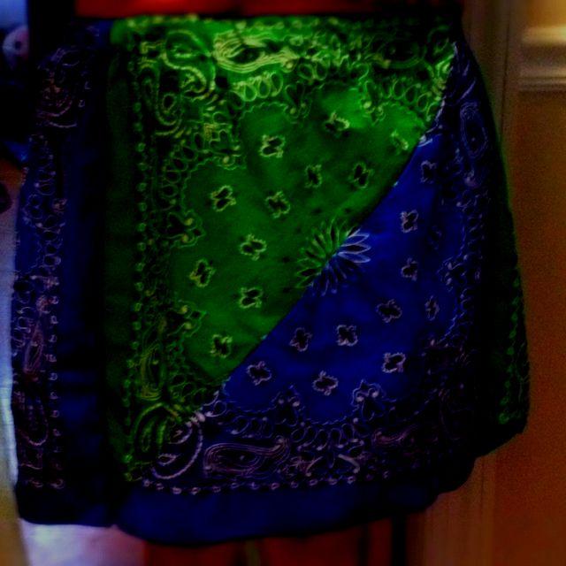 Bandana skirt for me!