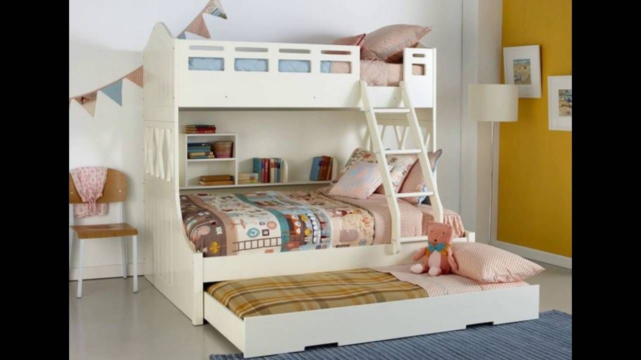 Use Of The Kids Double Bed For Creativity With Images Bunk