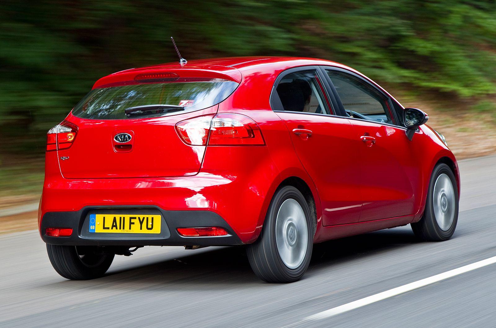 Some more lowdown torque wouldn't go amiss Kia rio, Kia