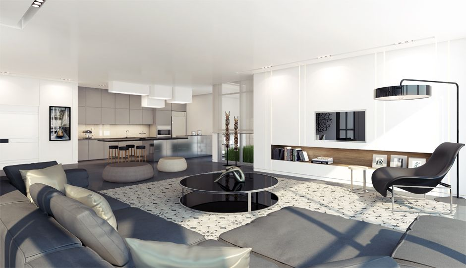 Type A Oak Project apartments by Rani Ziss Architects