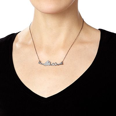 Look what I found at UncommonGoods: parent nestling necklaces... for $70 #uncommongoods