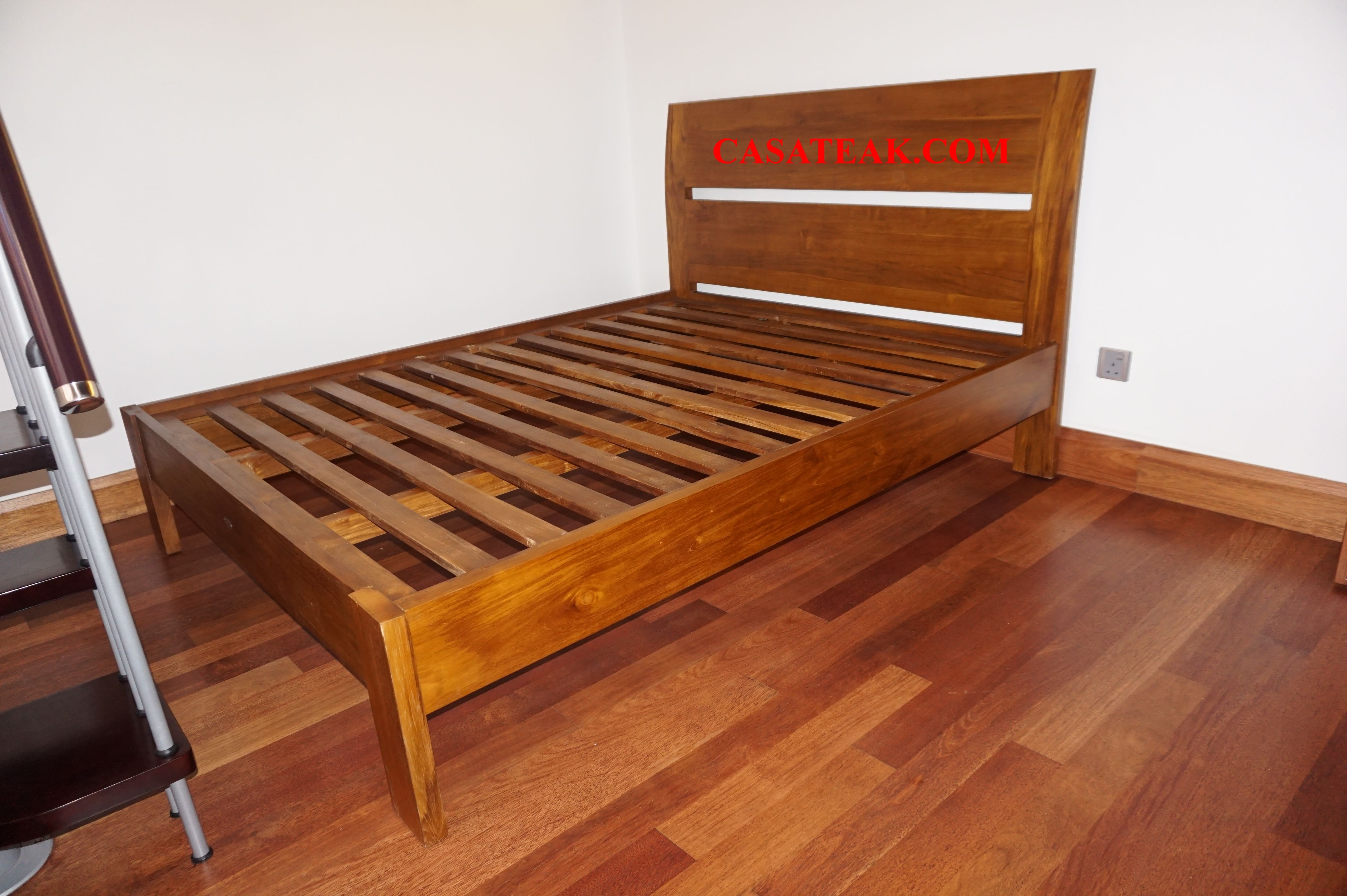 solid wooden bed frame available at casateak malaysia teakwood rh pinterest com