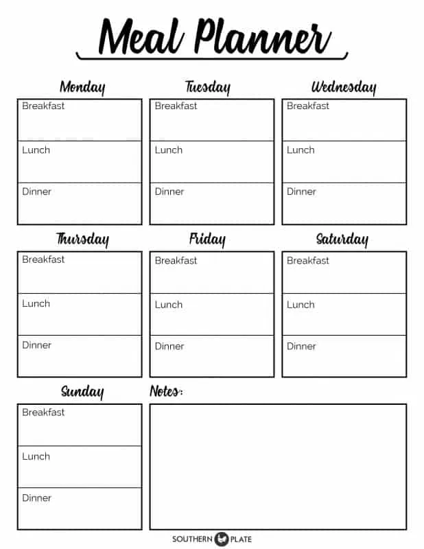 23 Free Planning Printables (Get Your Life Organized This Year) -
