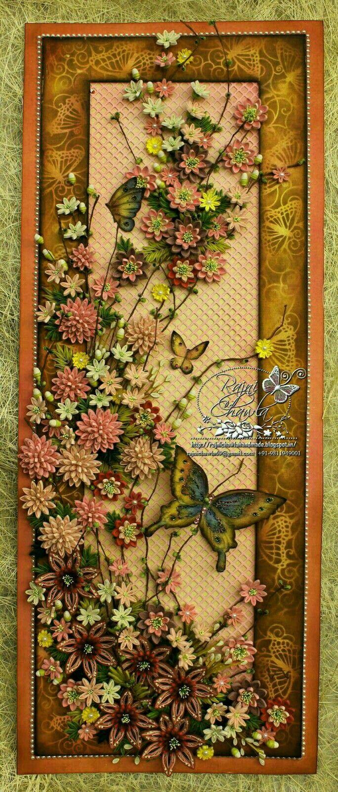 Pin by Sukran Bayraktar on Kağıt kıvırma | Pinterest | Flower crafts ...