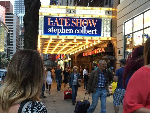 What it's like to go to a live taping of Stephen Colbert's ...