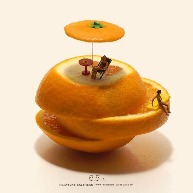 Les ingénieuses et drôles petites scènes de Tatsuya Tanaka Macro