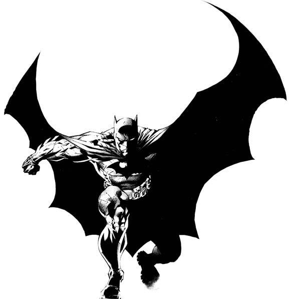 batman vector art batman
