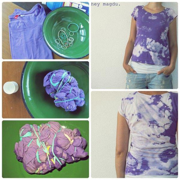 Sommerwolken Batik Shirt Batik Shirt, Gloves, Summer
